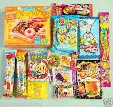 15 PCS SET / JAPANESE CANDY Dagashi candy set Kracie popin cookin Donut