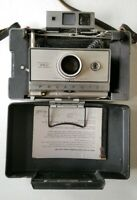 Polaroid 350 Vintage Land Camera Instant Photography in case with strap UNTESTED
