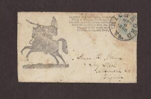 Confederate: Richmond, Va, 1862 CSA #2 Patriotic Cover, To Arms! To Arms!