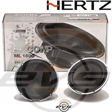 HERTZ ML 1600 Coppia Woofer Hi End Serie MILLE 165 mm 16,5 cm Nuovi + Griglie
