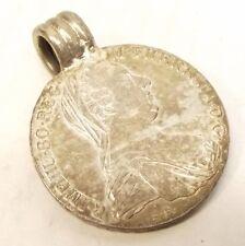 Maria Theresia Thaler Pendant GUENZBURG MINT RARE 1780 X Silver Austria Coin