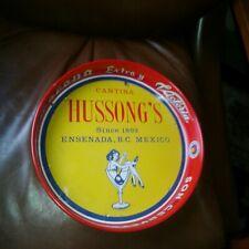 Hussong'S Cantina Ensenada Mexico Advertising Corona Extra/Victoria Beer Tray A+