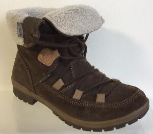 Merrell Emery Lace Warm Fleece Lined Womens Hiking Walking Boots UK Size 6 EU 39