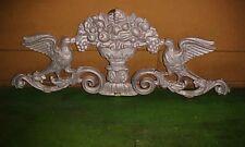 Metal Birds & Urn Architectural Decoration Wall ,Garden Or Yard Art Display