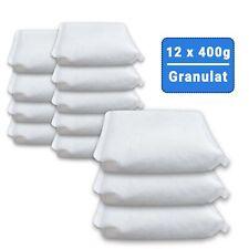 12 x 400 Gramm Luftentfeuchter Nachfüllpack Raumentfeuchter Granulat (4E)