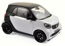 NOREV 1/18  2015 Smart ForTwo Diecast Model Car White (183430)