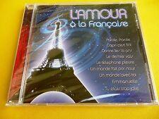 MUSICA FRANCESA / L´AMOUR A LA FRANÇAISE - Varios - edición argentina - Precinta