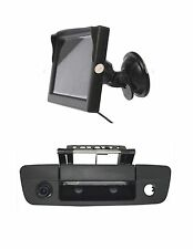 "Tailgate Handle Backup Camera & 5"" LCD Monitor, 2009-2016 Dodge Ram Trucks"