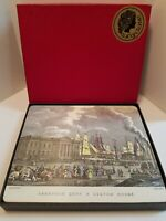 Vintage Lady Clare Melamine Place Mats Glasgow Scotland Set of 6 in Orig Box