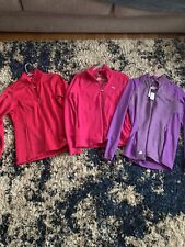 Lot (5) S/M Women Golf Shirt Pullover Zip Jacket Long Sleeve- Nike, Puma, Blcc