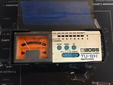 Boss TU-12H Chromatic Tuner Digital Processing