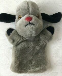 Sweep Sooty & Sweep Puppet Dog With Squeak Used Condition Plush Y216