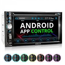 Autoradio mit Android App Touchscreen Bildschirm Bluetooth DVD CD USB SD 2DIN