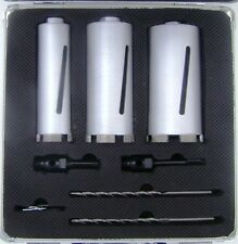 Diamond Core Drill Bit Kit  Concrete Rated
