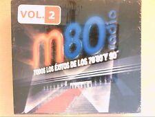 RARE COFFRET 3 CD / M80 RADIO / EXCITOS DE LOS 70, 80 Y 90 / VOL 2 / NEUF CELLO