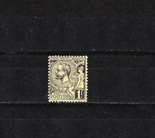 MONACO   prince  Albert 1er  1f  noir sur jaune    de 1891/94   num: 20  *