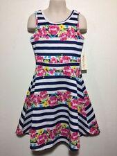 Polyester Regular Sleeve Dresses (Sizes 4 & Up) for Girls