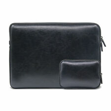 """13inch Laptop Leather Sleeve Case+Small Storage Bag For 13.3"""" Macbook Air/Pro PC"""