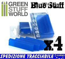 Materiale BLUE STUFF (4 pezzi) per fare Stampi Riutilizzabili - Warhammer Resina