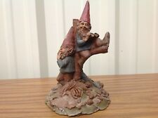 """T. Clark Cairn Gnome Peterson Audugan 2 Gnomes in a Tree 1985 #36 9.75"""" tall"""