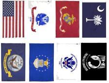 Wholesale Lot 2x3 USA + 5 Branches Military + Pow Mia + South Carolina Flag Set