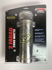 Sound Quest Sqcap2M Digital Power Capacitor 2.0 Farad Up to 2000 Watts New
