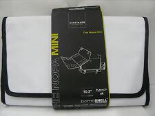 Acme Made Nopa White tri-Fold Mini Laptop Bag 10-Inch Macbook/Ultrabooks