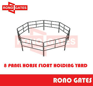 8PCS Portable Horse Float Yards Panel Pin Included for Holding Yard