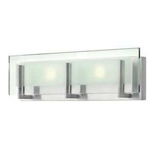 Hinkley Lighting Latitude 2 Light Bath Light, Brushed Nickel - 5652BN-LED2