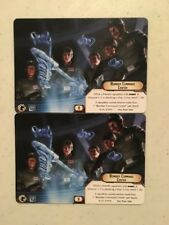 x2 Bomber Command Center Alt Art Card from Star Wars Armada 2017 Official FFG OP