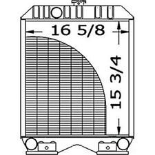 One 1 Radiator Fits Ford 1720 1920 Sba310100600