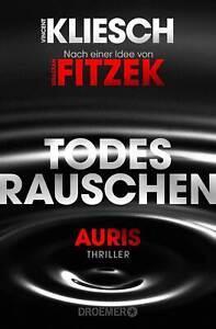 BUCH Vincent Kliesch - Auris 3 Todesrauschen - Droemer - Fitzek Thriller - neu