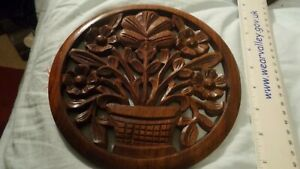 Wooden  trivet or wall decoration