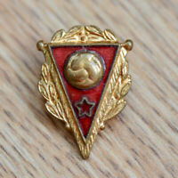 Vintage Soviet Union USSR Soccer Football Federation Pin Badge 1950s