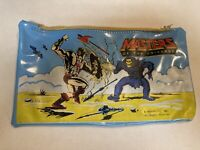 MOTU Vintage Pencil Pouch Bag 1983 Masters of the Universe He-Man