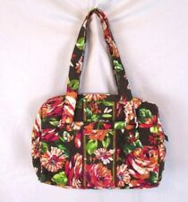 Vera Bradley English Rose Floral Handbag Purse Quilted Large Shoulder BP8