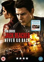 Jack Reacher: Never Go Back [DVD + Digital Download] [2016] [DVD][Region 2]