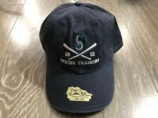 Seattle Mariners '47 Twins Adjustable 2012 Spring Training Hat New with Tag
