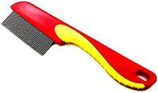 FOCUS metallo Pidocchi pettine per capelli con manico RIMUOVE pidocchi e uova