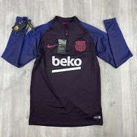 Nike FC Barcelona 19/20 Strike Men's Drill Top Size Medium AO5159-662 NEW