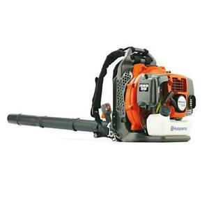 Husqvarna 965877502 50cc 494-Cfm 180-Mph Tube Throttle Back Pack Leaf Blower*