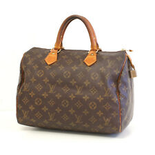 Authentic LOUIS VUITTON SPEEDY 30 Monogram Handbag Bag Purse Satchel