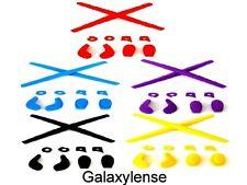Earsocks Nose Pads Rubber Kits Oakley Juliet,Penny Black/Blue/Red/Yellow/Purple