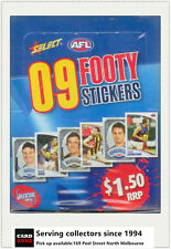 Popular--2009 Select AFL Stickers Factory Box (50 Packs)-VALUE
