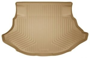 For 2009-2013 Toyota Venza Husky WeatherBeater Tan Rear Cargo Liner Free Ship