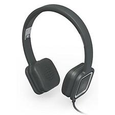 Ministry of Sound Audio on Ear Headphones Charcoal and Gun Metal