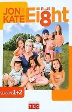ONLY $5 TV DVD BOXSETS : Jon And Kate Plus 8 - Seasons 1 + 2 New Dvd FAST SHIP