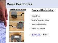 Morse Brand Gear Box