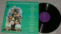 """HAGEN Hans ♫ The World's Most Beloved Melodies ♫ Vinyl Record 33rpm 12"""" LP album"""