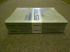 1999 2000 SUZUKI ESTEEM  Service Shop Repair Manual SET DEALERSHIP 2 VOLUME NEW